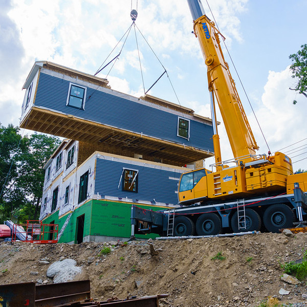 Modular home delivery and builder KBS Homes